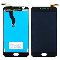 Дисплей для MEIZU M3 Note (model L681H) с чёрным тачскрином (ID:10565)