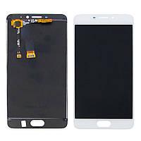 Дисплей для MEIZU M5 Note с белым тачскрином (ID:11990)