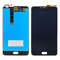 Дисплей для MEIZU U20 с чёрным тачскрином (ID:11650)