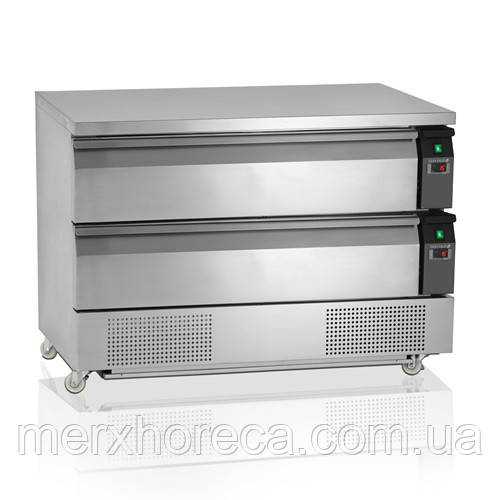 Холодильно/морозильний стіл TEFCOLD UD2-3-P