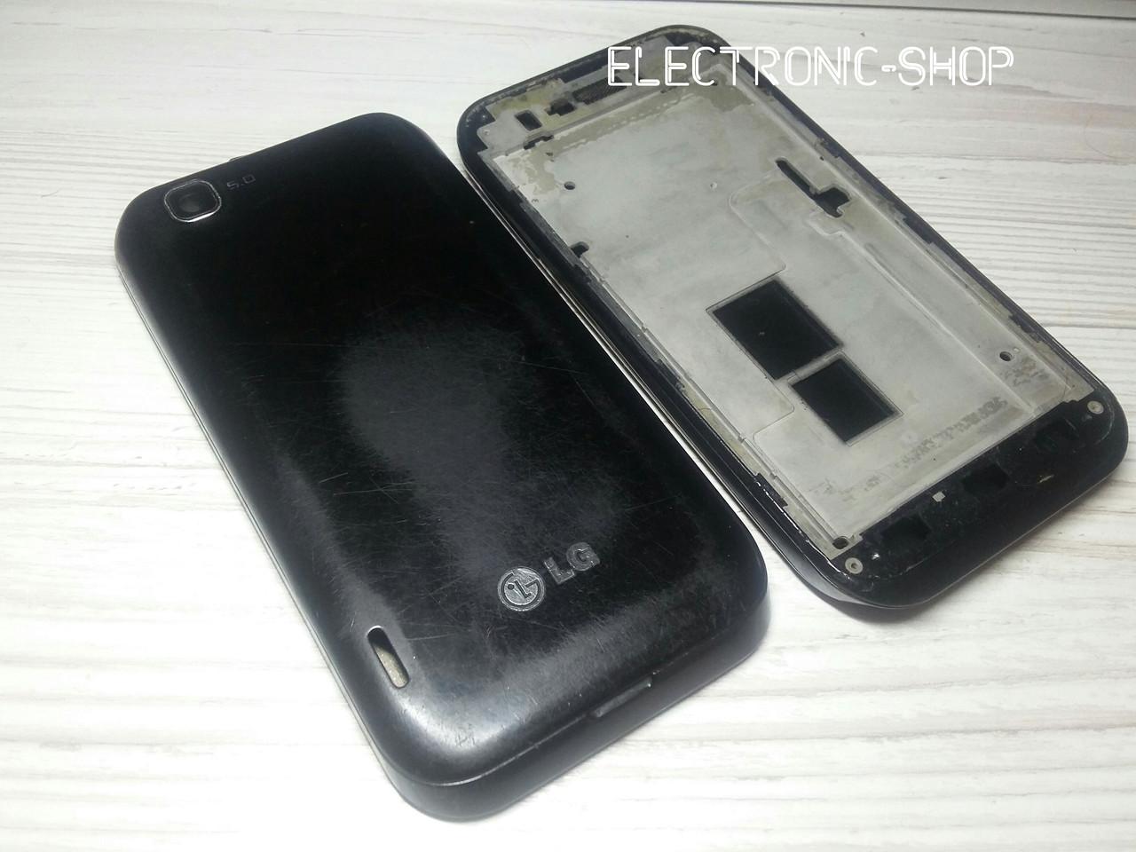 Корпус полный сбор LG E730 оригинал б.у
