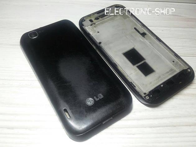 Корпус полный сбор LG E730 оригинал б.у, фото 2
