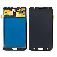 Дисплей для SAMSUNG J700 Galaxy J7 с чёрным тачскрином (ID:12548)