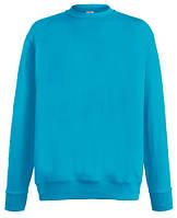 Мужской лёгкий свитер Ультрамариновый  Fruit Of The Loom  62-156-0 Zu M