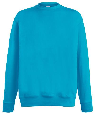 Мужской лёгкий свитер Ультрамариновый  Fruit Of The Loom  62-156-0 Zu L