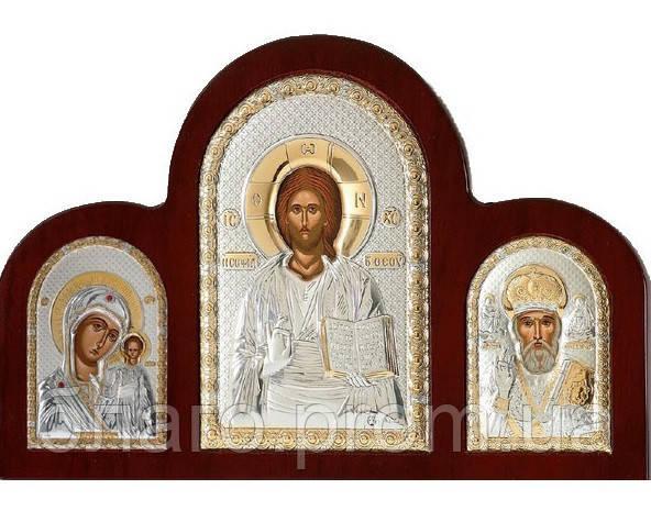 Складень триптих со Спасителем