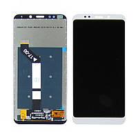 Дисплей для XIAOMI Redmi 5 Plus с белым тачскрином (ID:14923)
