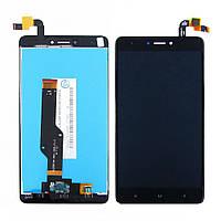 Дисплей для XIAOMI Redmi Note 4X с чёрным тачскрином (ID:12284)