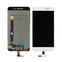Дисплей для XIAOMI Redmi Note 5A Prime с белым тачскрином (ID:14342)