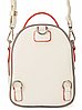 Женский мини рюкзак David jones CM 3790 White mini, фото 4
