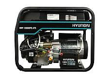 Бензиновый генератор Hyundai HHY 10000FE ATS, фото 3