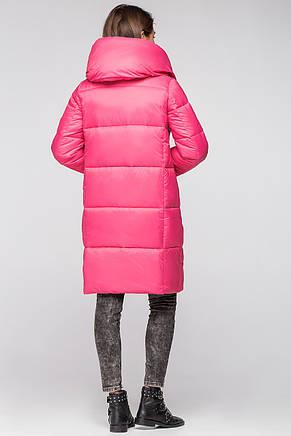 ec5d8a6585c6 Женская зимняя куртка одеяло KTL-316 из новой коллекции 2018-2019  ярко-розового цвета (#505)