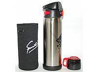 T30 ТЕРМОС 770мл, Питьевой термос, с поилкой, термос с чашкой, Термос с двумя крышками, Термос для напитков, фото 1