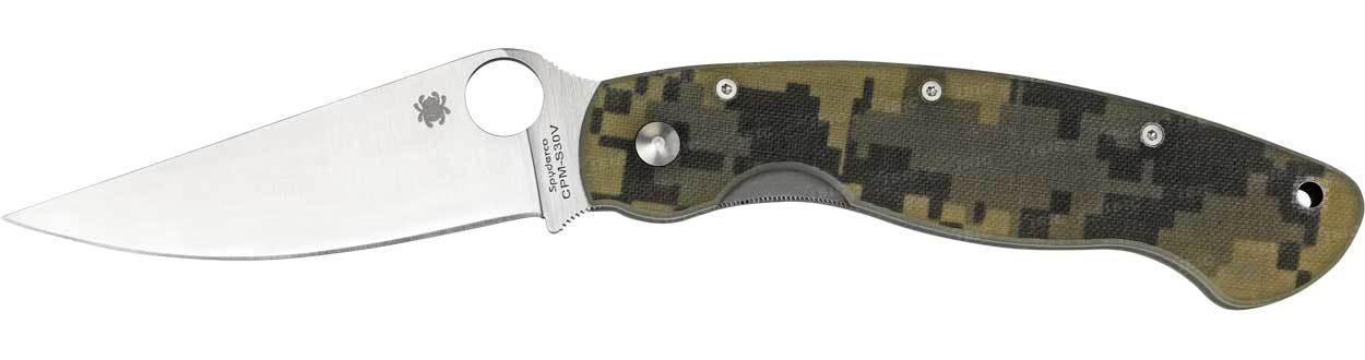Нож Spyderco Military Camo