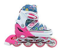 Ролики Maraton Keddo, размеры: 28-33, 34-39, есть цвета, роликовые коньки детские, фото 1