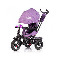 Велосипед трехколесный TILLY CAYMAN T-381/2  фиолетовый лён