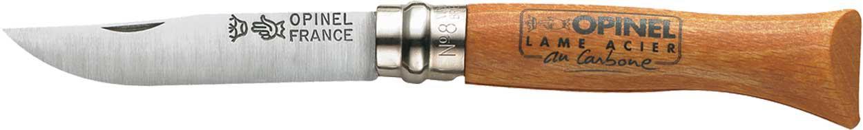 Нож Opinel №8 Carbone (в блистере)