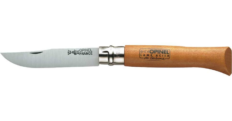 Нож Opinel №12 Carbone (в блистере)