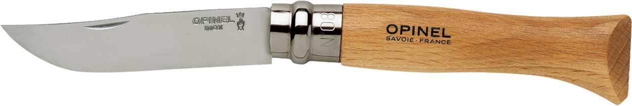 Нож Opinel №8 Inox с чехлом в подарочной коробке