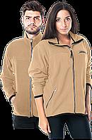 Кофта POLAR-HONEY BE флисовая рабочая бежевая унисекс Reis Польша (блуза утепленная спецодежда)