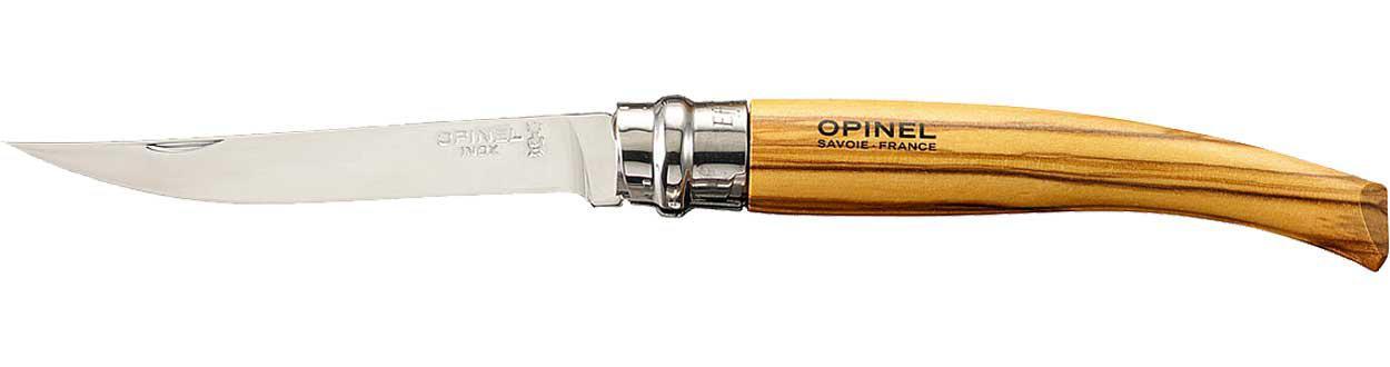 Нож Opinel Effile №10 олива (чехол)