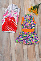 Платье детское на девочку (от 2 до 8 лет). Разные расцветки.