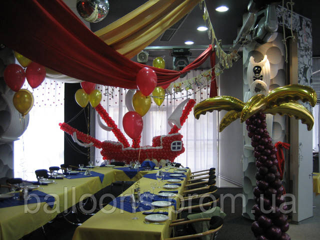 День Рождение и воздушные шары