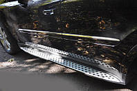 Пороги боковые Mercedes ML-class W164