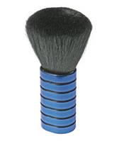 Шетка сметка парикмахерская для сметания волос Sibel синияя