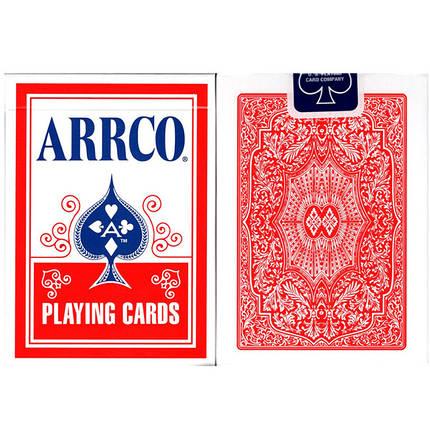 Карты игральные| ARRCO Playing Cards (Red), фото 2