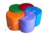 Комплект пуфиков трансформеров Цветок, фото 1
