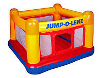 """Надувной детский игровой центр - батут Intex (48260) """"Playhouse"""", детский батут, для детей,"""