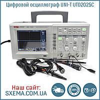 Цифровой осциллограф UNI-T UTD2025C полоса пропускания 25Мгц, Экран 5.7 дюймов, фото 1