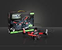 Квадрокоптер SKYHAWK HM1315S, дрон радиоуправляемый, квадракоптер, беспилотный, складывающийся