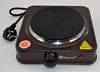 Дисковая плита Domotec MS-5821 (1000 Вт), плита бытовая, переносная плита