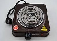 Спиральная плита Domotec MS-5801 (1000 Вт), плита бытовая
