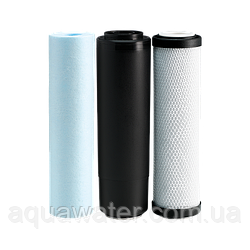 Комплект картриджів Aqua Water осмос покращений