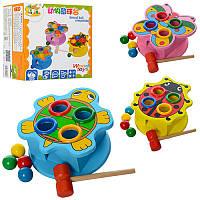 Деревянная игрушка Стучалка MD0045