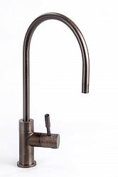 Кран для фільтрів води одинарний бронза
