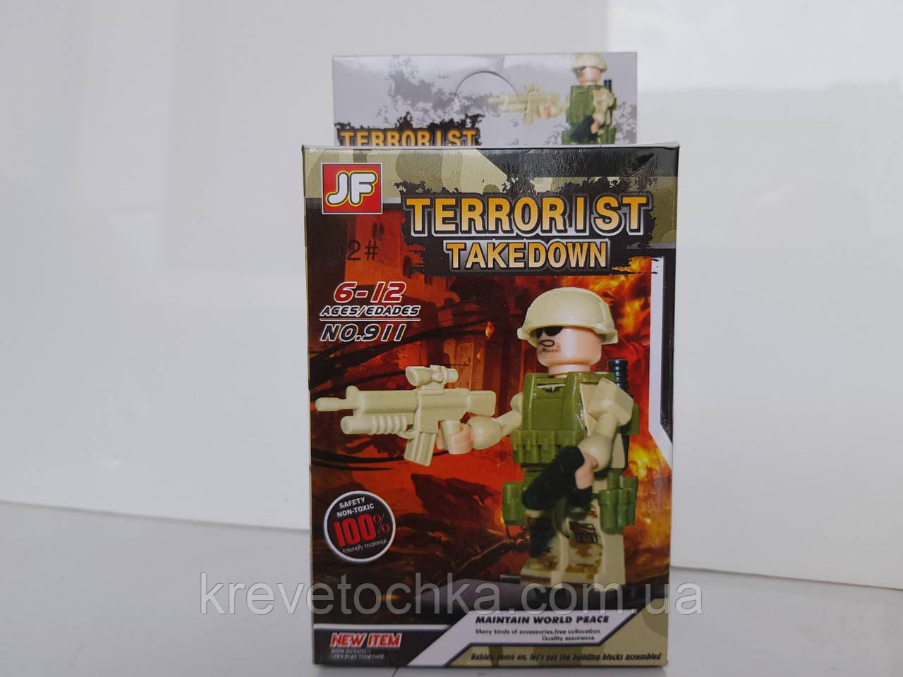 Лего герои военные   terrorist