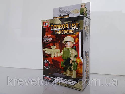 Лего герои военные   terrorist, фото 2