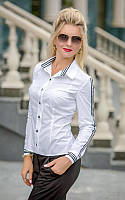Блузка белая Олимпия, фото 1