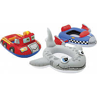 Надувная лодочка : животное - машина- корабль в пакете   INTEX