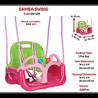 """Качеля детская """"SAMBA"""" 35х44х37 (06-129) Pilsan, качелька для детей, детская игрушка, подвесная"""