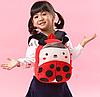 Рюкзак детский плюшевый Божья коровка, фото 5