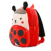 Рюкзак детский плюшевый Божья коровка, фото 3