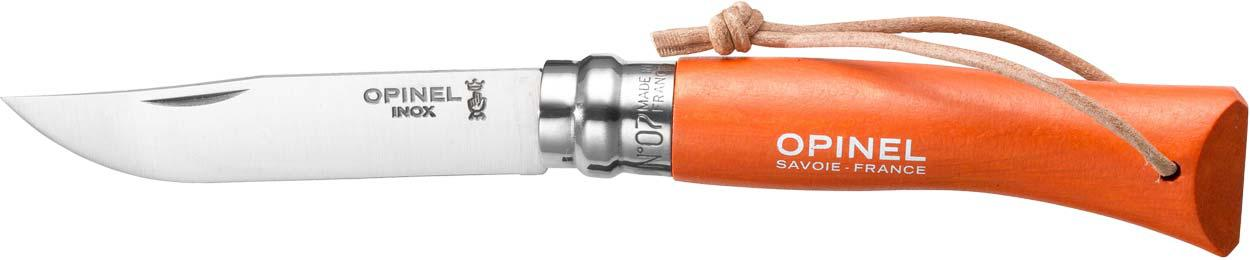 Нож Opinel №7 Inox Trekking оранжевый