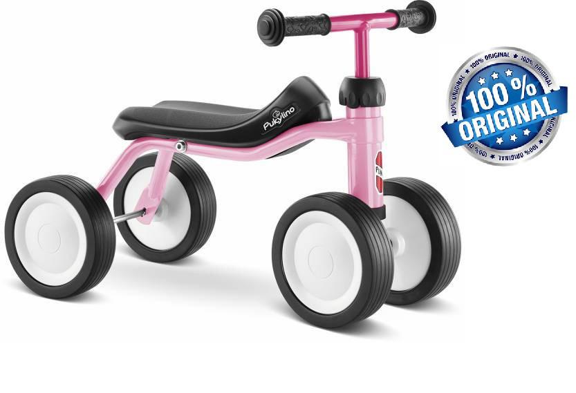 Беговел велобег детский PUKY Pukylino (Германия), розовый