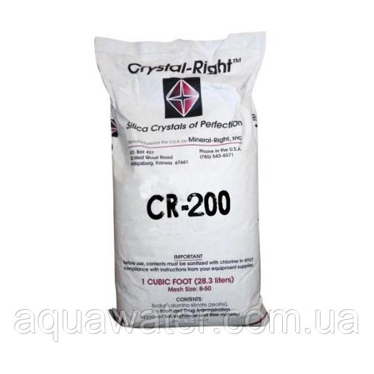 Crystal Right CR-200 фільтруючий матеріал для зниження вміст марганцю, заліза, солей жорсткості (28,3 л)