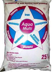Сорбент Aqua Multi (12 літрів) - фільтруючий матеріал для видалення заліза, жорсткості, марганцю, аміаку